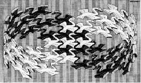Лебеди Эшера